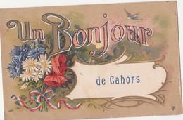 CPA -   UN BONJOUR DE CAHORS - Cahors