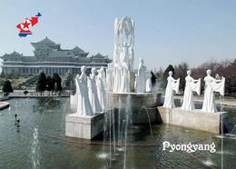 North Korea Pyongyang Mansudae Fountain Park New Postcard Nordkorea AK - Korea (Nord)