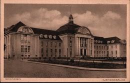 ! Alte Ansichtskarte Schwerin , Justizgebäude, Gericht - Schwerin
