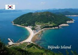 South Korea Bijindo Island Aerial View New Postcard Südkorea AK - Corea Del Sud