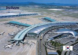 South Korea Incheon Airport Aerial View New Postcard Südkorea AK - Korea (Süd)