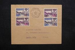 WALLIS & FUTUNA - Enveloppe De Mata Utu Pour Paris En 1957, Affranchissement Plaisant - L 32726 - Cartas