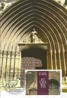 SPAIN. MAXICARD SAN JUAN CHURCH. ARANDA DE DUERO (BURGOS). 2014 - Maximum Kaarten