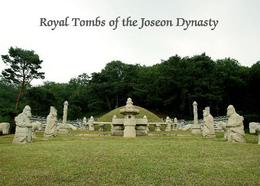 South Korea Royal Tombs Of The Joseon Dynasty UNESCO New Postcard Südkorea AK - Korea (Süd)