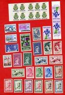 Lot De 26 Timbres 1 Bande De 2 Timbres 1 Carnet De 10 Timbres MONDE Neufs - Stamps