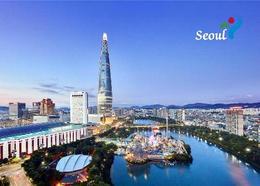 South Korea Seoul View Lotte World Tower New Postcard Südkorea AK - Korea (Süd)