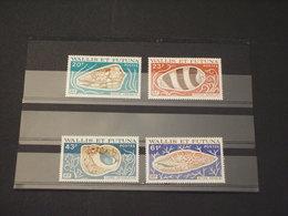 WALLIS FUTUNA - 1978 CONCHIGLIE 4 VALORI - NUOVI(++) - Wallis E Futuna