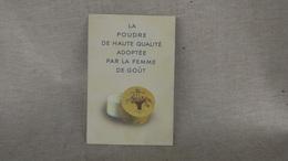 Présentation Publicitaire En Carton Superposés, Boite à Poudre Parfumerie Houbigant, Plv Parfum - Labels