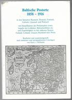BALTISCHE   POSTORTE   1858--1916. - Woordenboeken