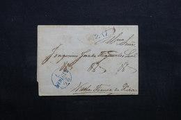 PORTUGAL - Lettre Ancienne En 1848 - L 32732 - ...-1853 Préphilatélie