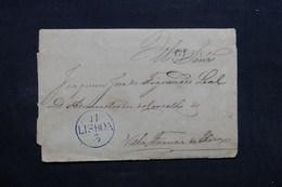 PORTUGAL - Lettre Ancienne De Lisbonne  - L 32733 - ...-1853 Préphilatélie