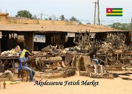 Togo Lome Akodessewa Fetish Market New Postcard - Togo