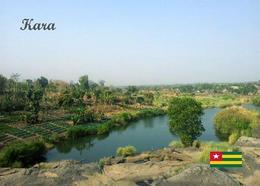 Togo Kara River Overview New Postcard - Togo
