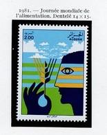 Algérie - Algerien - Algeria 1981 Y&T N°746 - Michel N°785 *** - 2d Journée De L'alimentation - Algerije (1962-...)