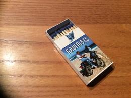 """Boîte D'allumettes SEITA """"GAULOISES"""" (moto) - Matchboxes"""
