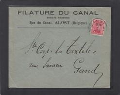 FILATURE DU CANAL,ALOST. - Belgique