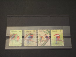 MALAYSIA - 1993 UCCELLI  4 VALORI - NUOVI(++) - Malesia (1964-...)