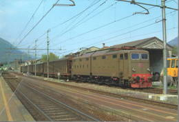 432 E. E 645.075 TIBB Stazione Di Morbegno Sondrio Railroad Tunel Trein Railways Treni - Stazioni Con Treni