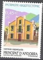 Andorra Español 2001 Yvert 271 Neuf  ** Cote (2015) 1.80 Euro Maison Palau Sant Julia De Loria - Andorre Espagnol
