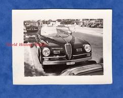 Photo Ancienne - CANNES - Superbe Automobile ALFA ROMEO Cabriolet - 1949 - Cote D'Azur Alpes Maritimes Auto Design - Automobiles