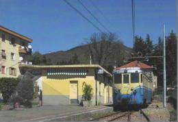 435 FGC A5 TIBB Località Caselle Paese Genova Railroad Tunel Trein Railways Treni - Bahnhöfe Mit Zügen