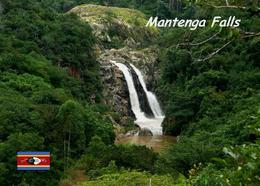 Swaziland Eswatini Mantenga Falls New Postcard Swasiland AK - Swazilandia