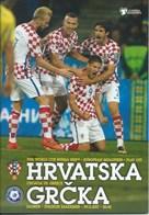Sport Programme PR000069 - Football (Soccer Calcio): Croatia Vs Greece 2017-11-09 - Programs