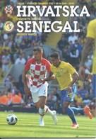 Sport Programme PR000070 - Football (Soccer Calcio): Croatia Vs Senegal 2018-06-08 - Programs