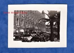 Photo Ancienne - CANNES - Automobile à Identifier Prés De L' Hôtel CARLTON - 1949 - Cote D'Azur Alpes Maritimes Auto - Automobiles