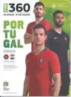 Sport Programme PR000071 - Football (Soccer Calcio): Portugal Vs Croatia 2018-09-06 - Programs