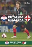 Sport Programme PR000072 - Football (Soccer Calcio): Croatia Vs England 2018-10-12 - Programs