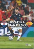 Sport Programme PR000073 - Football (Soccer Calcio): Croatia Vs Spain 2018-11-15 - Programs
