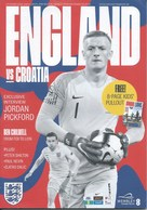 Sport Programme PR000074 - Football (Soccer Calcio): England Vs Croatia 2018-09-06 - Programs