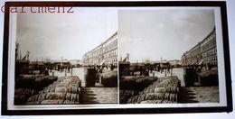 MESSINA MESSINE SICILIA SICILE 1880 FOTO STEREO PHOTOGRAPHIE STEREOSCOPIQUE PLAQUE DE VERRE ITALIE ITALIA - Messina