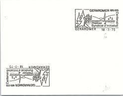 ESSAI - GERARDMER 18.3.75    /3 - Marcofilia (sobres)