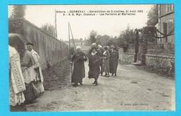 CPA GERMENAY Bénédiction De 3 Cloches 21 Août 1932 Mgr Chatelus Les Parrains Et Marraines 58 Nièvre Canton De Corbigny - Altri Comuni