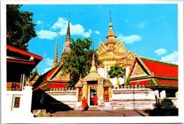 Thailand Bangkok View Of Wat Pho - Thailand