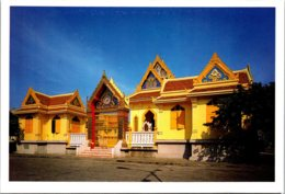 Thailand Bangkok Temple Of Wat Traimitr-vitayaram-viharn Trimitr Road - Thailand
