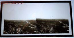 PALERMO PALERME SICILIA SICILE 1880 FOTO STEREO PHOTOGRAPHIE STEREOSCOPIQUE PLAQUE DE VERRE ITALIE ITALIA - Palermo