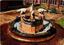 Netherlands Den Haag The Peace Palace Fountain - Den Haag ('s-Gravenhage)