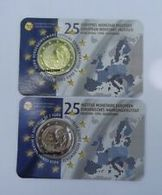 """Pièce Commémorative  2 Euro Coincard Belgique 2019  """"  Institut Monétaire Européen  """" - België"""