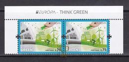 Portugal Think Green Biodiversidade EUROPA 2016 Sustainable Development Développement CEPT Açores Azores - Europa-CEPT