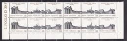 1991 Vaticano Vatican SINODO (Trittico)  SYNOD 4 Serie Di 3v. MNH** Quartina Bl.4 - Unused Stamps