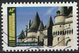France 2019 Oblitéré Used Histoire De Styles Architecture Château De Vitré - France