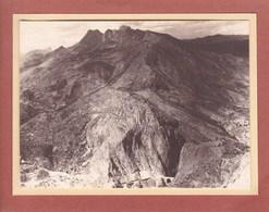 AYON Montagnes ESPAGNE 1929 Photo Amateur Format Environ 7,5 X 5,5 Cm - Lugares