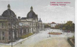 AK 0262  Lemberg ( Lwów ) - Bahnhof / K. K. Österreich Um 1913 - Ukraine
