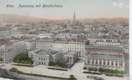 AK 0262  Wien - Panorama Mit Künstlerhaus Um 1911 - Wien Mitte