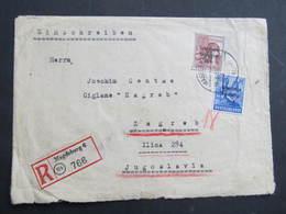 BRIEF Magdeburg - Zagreb  SBZ// D*38943 - Sowjetische Zone (SBZ)
