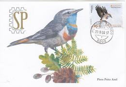 Portugal 2019 EUROPA 2019 CEPT Postal Maximo Pisco Peito Azul Algarve Maximum Maxicard Fauna Luscinia Svecica Ave Bird - Uccelli
