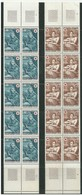 FRANCE 1969 (1692-1693)  Red Cross - 20 Stamps (2 Blocks Of 10 Stamps Each) - Mint. - France